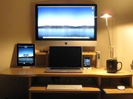 pc setup ideas mac book mac desks page 2