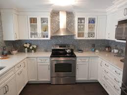 Kitchen Backsplash Samples Kitchen Cambria Quartz Color Berwyn With Marble Tile Backsplash