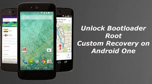 custom recovery android bootloader root and install custom recovery on android one