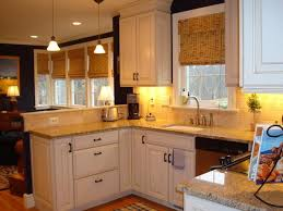 Light Brown Kitchen Cabinets Top Light Colored Kitchen Cabinets On White Cabinets Like In This