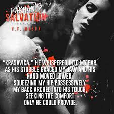 Seeking Vf Pakhan S Salvation By V F Tour Another Book Hangover