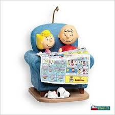 2007 sunday funnies peanuts hallmark ornament at hooked on