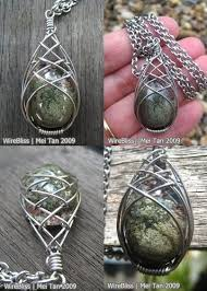 best 25 wire wrapped stones ideas on wrapping