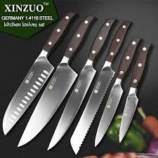 Japanese Kitchen Knives For Sale 6 Pcs Kitchen Knives Set Japanese Kitchen Chef Bread Stainless