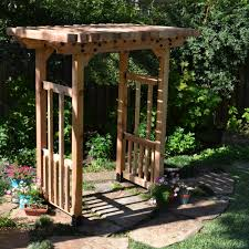 how to build a cedar pergola with free step by step instructions