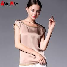 womens silk blouses wholesale summer blouses 2016 casual chiffon silk blouse