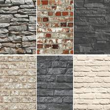 Stone Wall Mural New Brick Effect Faux Realistic Brick Stone Wall Pattern Photo