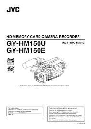 ub 04 manual jvc gy hm150e manual