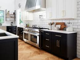 black bottom and white top kitchen cabinets food network kitchen giveaway food network fn