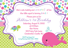 birthday invitations whale birthday invitation print your own a fairy tale