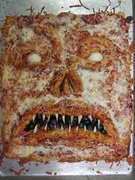 make your own evil dead necronomicon pizza daily dead fun food