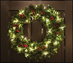 pre lit boxwood wreath artifical by welovewreaths 71
