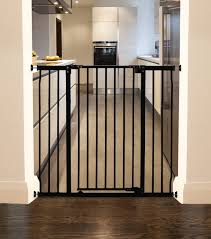 Child Stair Gates Dreambaby Liberty Xtra Tall U0026 Wide Gate Fits 99cm 106cm Black