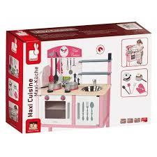 cuisine en bois jouet janod dinette maxi cuisine mademoiselle janod ekobutiks l ma boutique