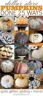 dollar store pumpkins done 25 ways a owl