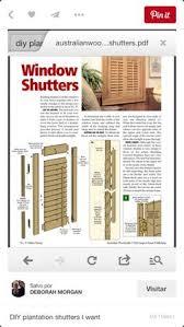 Shutter Blinds Diy Diy Shutters Build Your Own Plantation Shutters Inside Revamp