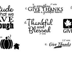 thanksgiving decals etsy