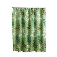 Shower Curtain Green Shower Curtains Shower Accessories The Home Depot