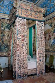 Schlafzimmer Zubeh Tapestries Behind State Bed Houghton Hall Norfolk England