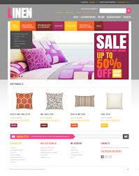 website template 40845 luxury bed linen custom website template