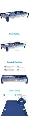 Tables Tabletop Pool Table Mini Set Game Billiards