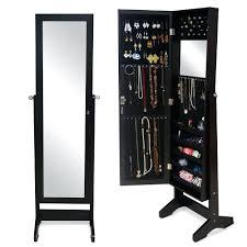 floor length mirror cabinet armoires floor length mirror jewelry armoire wood jewelry cabinet