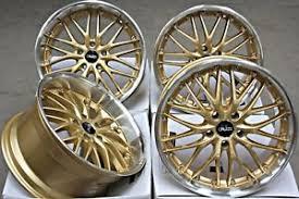 bmw e60 gold alloy wheels x 4 19 gold 190 fits bmw e39 e60 e61 e63 e64 5 6 7 8