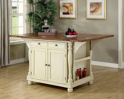 kitchen island drop leaf kitchen islands decoration cst102271 martha collection antique country style buttermilk finish and cherry finish wood drop leaf top large kitchen island