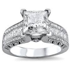 Princess Cut Diamond Wedding Rings by Princess Cut Diamond Wedding Rings Wedding Promise Diamond