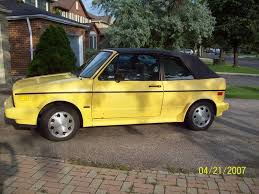 volkswagen rabbit truck custom 1991 volkswagen cabriolet information and photos zombiedrive