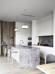 kitchen furniture waterfall kitchen islandrniture rectangular