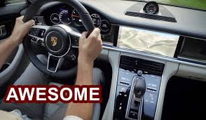 porsche inside view 2017 porsche panamera interior awesome youtube