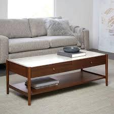 west elm reeve coffee table west elm olson coffee table reeve mid century coffee table marble