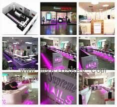 mall nail bar kiosk for manicure nail salon kiosk design nail