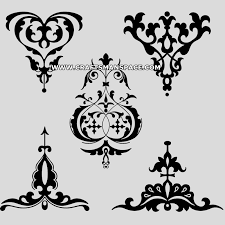 set of russian ornaments patterns and motifs 1
