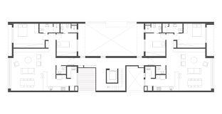 River City Phase 1 Floor Plans by Gallery Of Sedan Cultural Center Richard Schoeller Architectes
