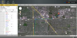 Satellite Map Live Trailer Tracking Asset Tracking Gps Fleet Management Heavy