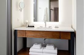 archer hotel burlington guest bathroom vanity lodgeworks