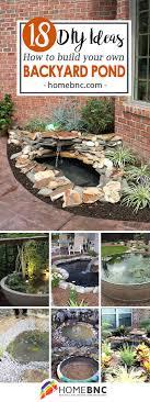 Backyard Pond Ideas 18 Best Diy Backyard Pond Ideas And Designs For 2018