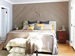 chevron wood wall bedroom chevron wood paneling headboard accent wall