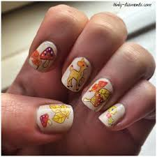 28 easy fall nail designs mixed using the nail art needle in
