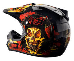 motocross helmets with visor rockhard slayer