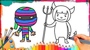 How To Draw Halloween Halloween Costume Ideas How To Draw Halloween Characters Ghost