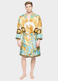Robe De Chambre En Soie Femme by Versace Peignoir En Soie La Coupe Des Dieux Home Collection