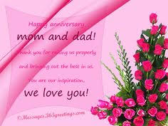 wedding quotes to parents anniversary quotes sayings parents and favimages net