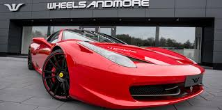 ferrari 458 ferrari 458 tuning wheels and exhaust wheelsandmore
