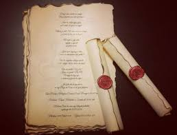 wedding scroll invitations cheap wedding scroll invitations best 25 scroll invitation ideas