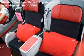 airasia review airasia x premium flatbed experience by optiontown travel convenience