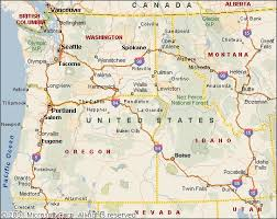 map usa northwest map of northwest us map of usa states