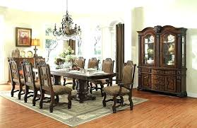 glass dining room table set dining room table and 8 chairs jcemeralds co